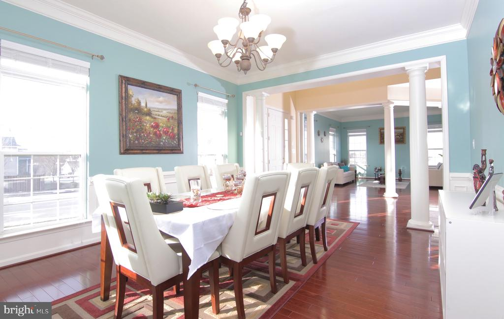 Dinning Room - 42427 IBEX DR, STERLING