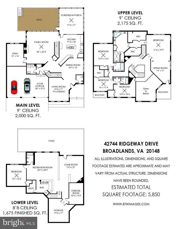 Floor Plan - 42744 RIDGEWAY DR, BROADLANDS