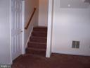 Steps Coming Into Family Room on Lower Level - 10012 GRASS MARKET CT, FREDERICKSBURG