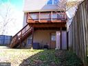 Deck That Overlooks Back Yard - 10012 GRASS MARKET CT, FREDERICKSBURG