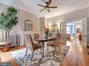 Entertain guests in this formal dining space. - 30 E 3RD ST E, FREDERICK