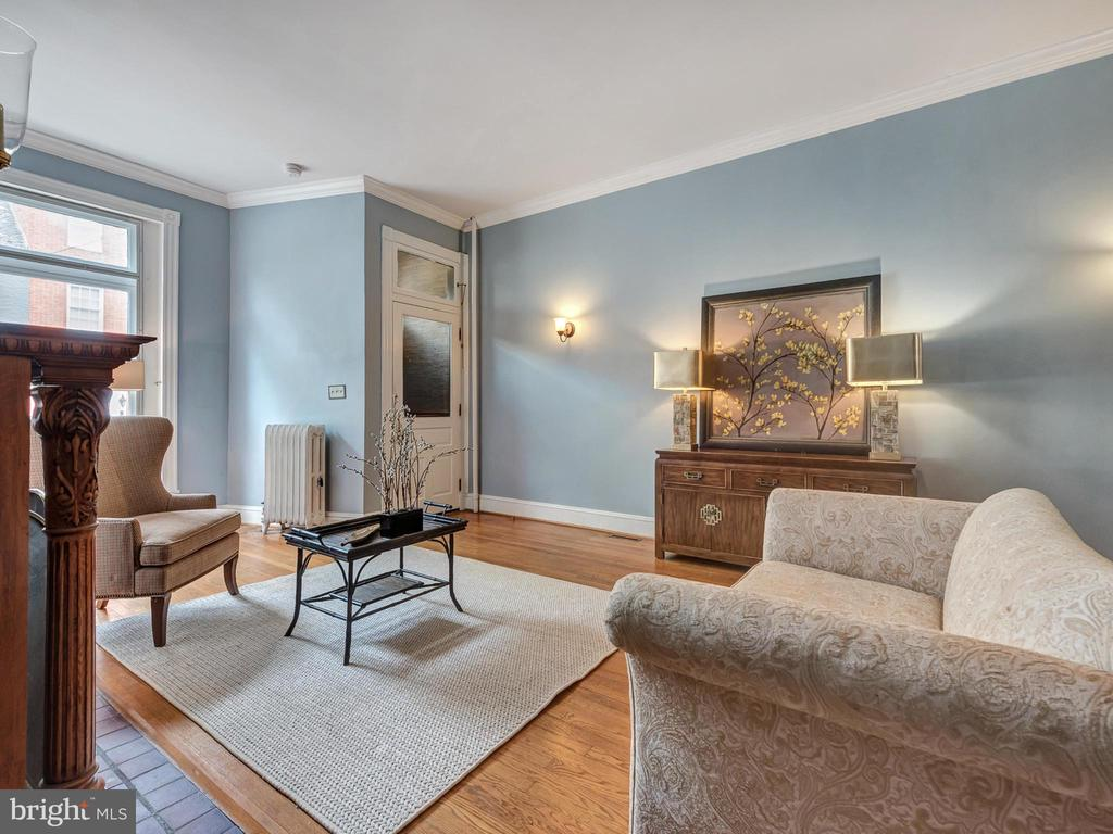 Lovely formal living room! - 30 E 3RD ST E, FREDERICK
