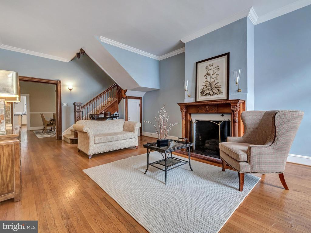 Beautiful hardwoods throughout the main level! - 30 E 3RD ST E, FREDERICK