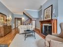 Relax on winter evenings around this fireplace. - 30 E 3RD ST E, FREDERICK