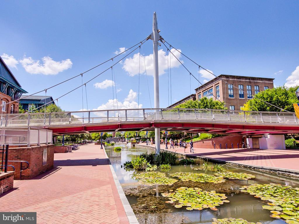 Enjoy the many restaurants along Carroll Creek. - 30 E 3RD ST E, FREDERICK