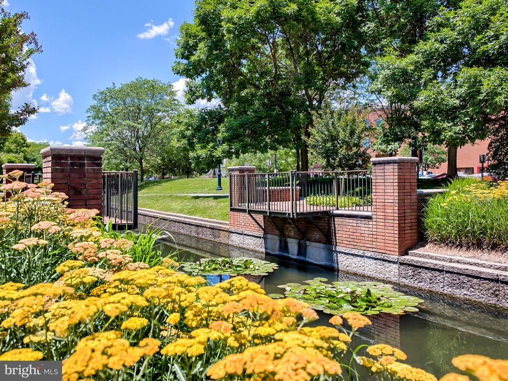 Lovely views along the canal. - 30 E 3RD ST E, FREDERICK