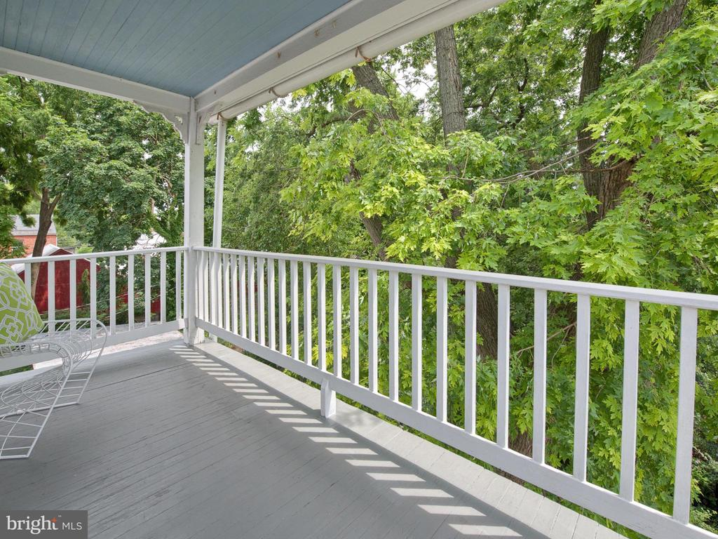 Private third level balcony to enjoy. - 30 E 3RD ST E, FREDERICK