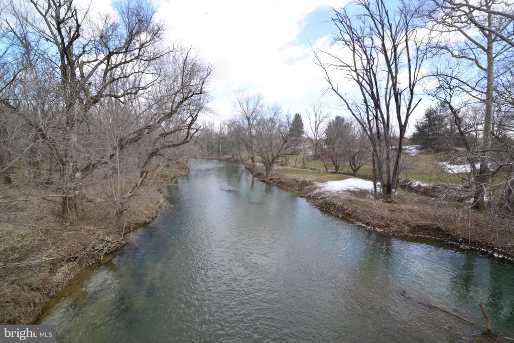 Fishing creek view from the Bridge - 918 WADESVILLE RD, BERRYVILLE