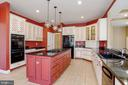 Renowned artist painted cabinetry. - 13300 IVAKOTA FARM RD, CLIFTON