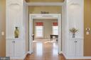 Dual French doors lead to the office/den. - 13300 IVAKOTA FARM RD, CLIFTON