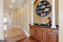 Hard crafted raised paneled cabinets with  granite - 13300 IVAKOTA FARM RD, CLIFTON
