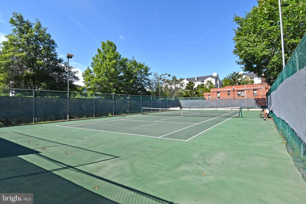 Enjoy the tennis court! - 1530 KEY BLVD #131, ARLINGTON
