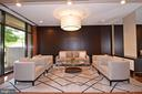 Luxurious lobby area. Welcome guests in style! - 1530 KEY BLVD #131, ARLINGTON