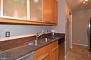 Plenty of prep space and storage - 1530 KEY BLVD #131, ARLINGTON