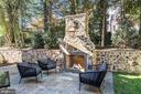 Outdoor Fireplace - 3200 N ABINGDON ST, ARLINGTON