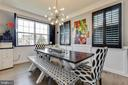 Open and Bright Dining Room - 41957 DONNINGTON PL, ASHBURN