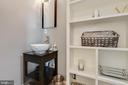 Full Bathroom in the Main Level Bedroom - 41957 DONNINGTON PL, ASHBURN