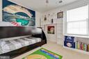 3rd Bedroom with Custom Built-ins - 41957 DONNINGTON PL, ASHBURN
