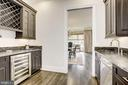 Butler's Pantry with Wine Rack  & Ample Storage - 6924 RIVER OAKS DR, MCLEAN