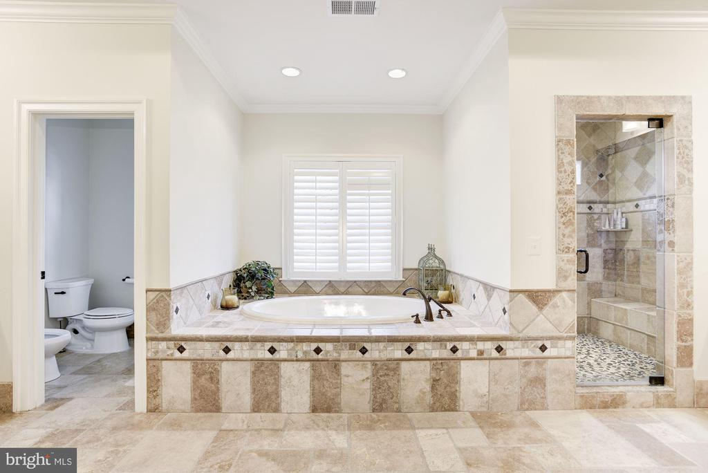 Luxurious Master Bath - 6924 RIVER OAKS DR, MCLEAN