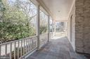Side Porch with access to DR and Mudroom - 6924 RIVER OAKS DR, MCLEAN