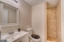 Full Bathroom in the Basement - 12 PIERRE EMMANUEL CT, FREDERICKSBURG