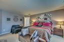 Spacious Master Bedroom - 12 PIERRE EMMANUEL CT, FREDERICKSBURG