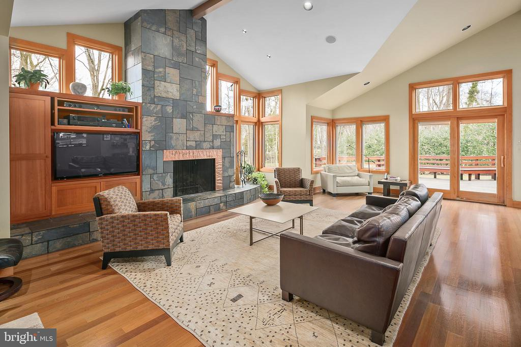 Family Room - 6201 POINDEXTER LN, NORTH BETHESDA