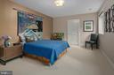 Lower Level Bedroom - 6201 POINDEXTER LN, NORTH BETHESDA