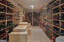 HUGE Wine Cellar - 6201 POINDEXTER LN, NORTH BETHESDA