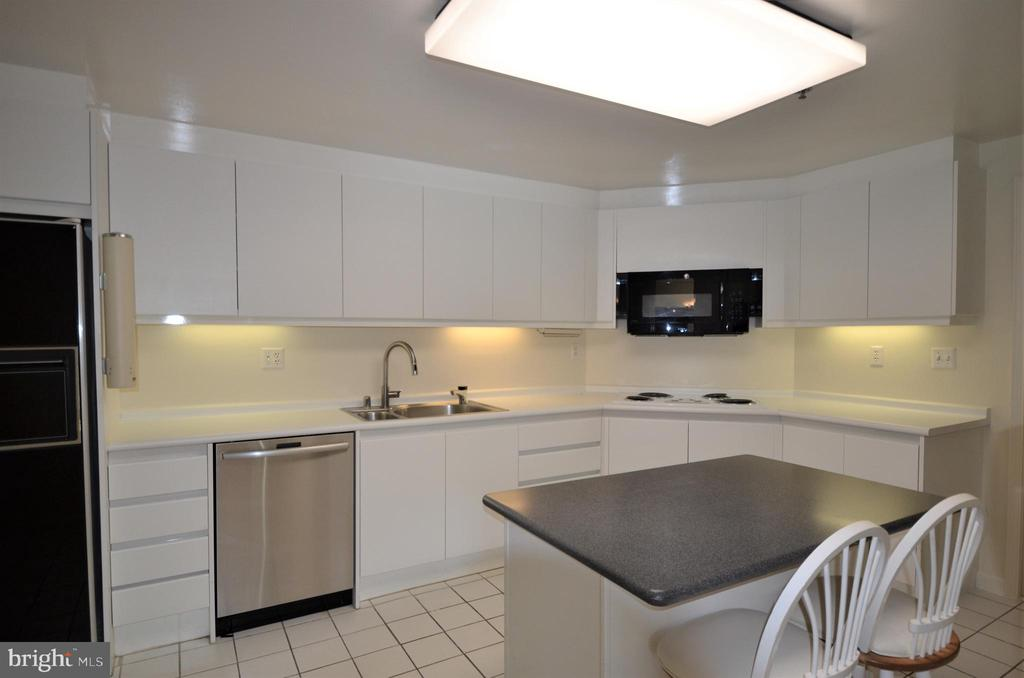 Bright, expansive kitchen - 5610 WISCONSIN AVE #406, CHEVY CHASE