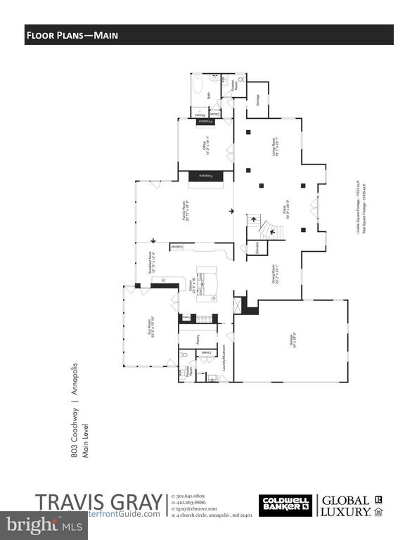 Floor Plans - 803 COACHWAY, ANNAPOLIS