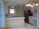 Spacious kitchen with breakfast bar - 5105 QUEENSBURY CIR, FREDERICKSBURG
