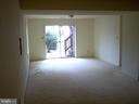 Huge rec room in lower level & level walkout - 5105 QUEENSBURY CIR, FREDERICKSBURG