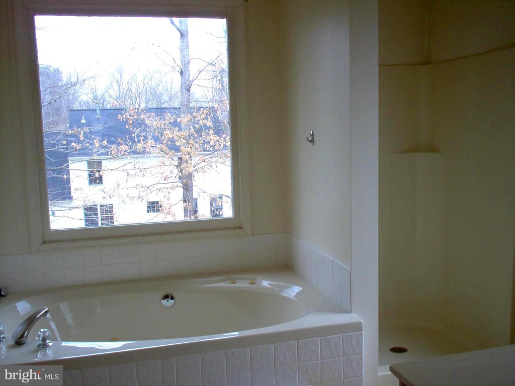 Master Bathroom w/soaker tub & separate shower - 5105 QUEENSBURY CIR, FREDERICKSBURG