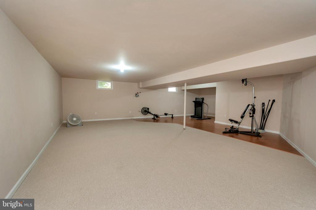 Large recreation room - 113 DOC STONE RD, STAFFORD