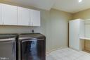 New Washer and Dryer in Upstairs Laundry Room - 1505 N VILLAGE RD, RESTON