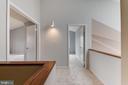 Upstairs Hallway with New Carpet - 1505 N VILLAGE RD, RESTON