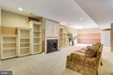 Lower level built ins - 12305 COLUMBIA SPRINGS WAY, BRISTOW