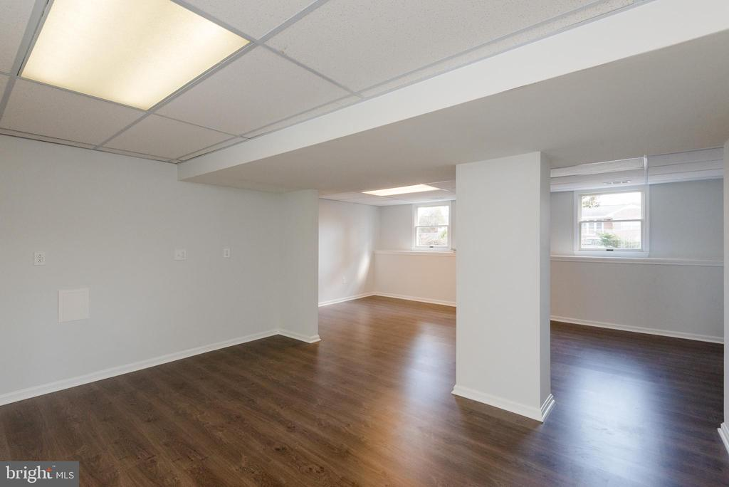 Overview of the lower level - 4632 HOWE AVE, SUITLAND