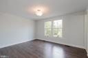Spacious master bedroom - 4632 HOWE AVE, SUITLAND