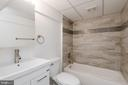 Lower level full bathroom - 4632 HOWE AVE, SUITLAND