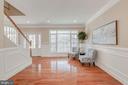 Living Room Area - 4412 RYNEX DR, ALEXANDRIA