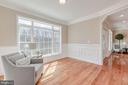 Relax in the Sitting Room and enjoy the view - 4412 RYNEX DR, ALEXANDRIA