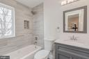 Full Bathroom on Second Level - 4412 RYNEX DR, ALEXANDRIA
