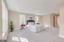 Bright & Airy Master Bedroom - 4412 RYNEX DR, ALEXANDRIA