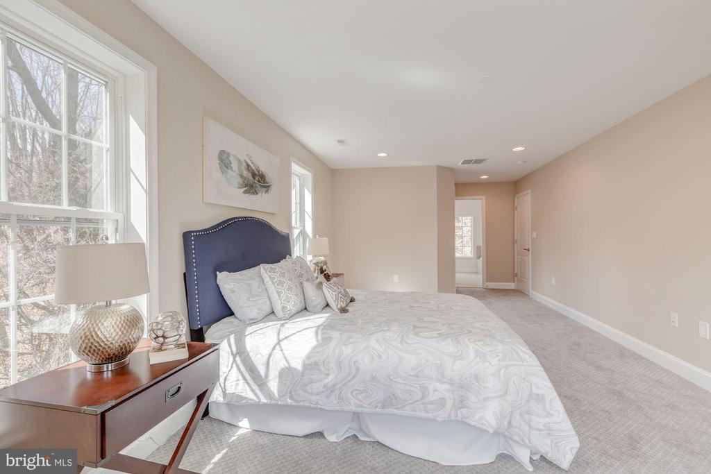 Huge Bright & Airy Master Bedroom - 4412 RYNEX DR, ALEXANDRIA