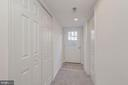 Separate Side Entrance to Fully Finished Basement - 4412 RYNEX DR, ALEXANDRIA