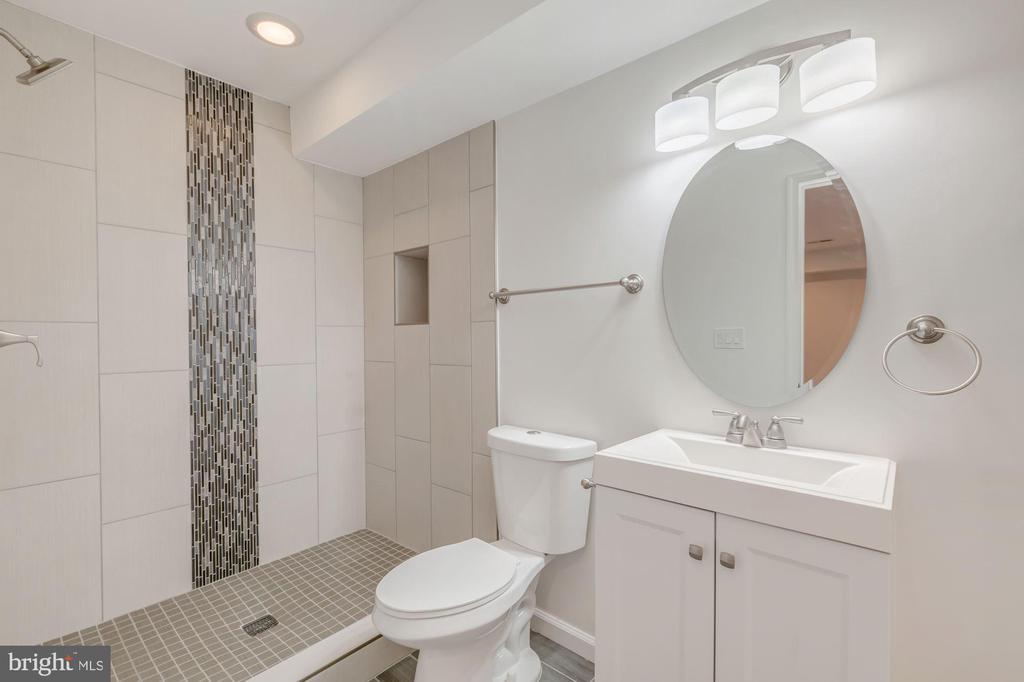 Full Bathroom in Basement - 4412 RYNEX DR, ALEXANDRIA