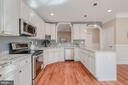 Custom Cabinets in Kitchen - 4412 RYNEX DR, ALEXANDRIA